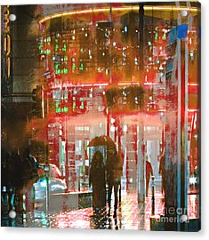 Umbrellas Are For Sharing Acrylic Print