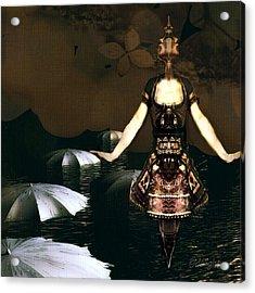 Umbrella Dance Acrylic Print