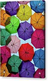Umbrella Sky II Acrylic Print by Marco Oliveira