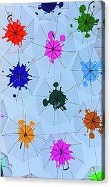 Umbrella Sky IIi Acrylic Print by Marco Oliveira