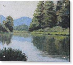 Umpqua River Acrylic Print
