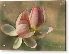 Un Baiser Acrylic Print by Georgiana Romanovna