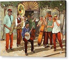 Un Po' Di Jazz Acrylic Print
