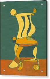 Un-sittable Small Acrylic Print by John Gibbs