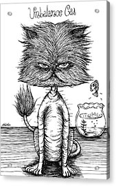 Unbalance Cat Acrylic Print