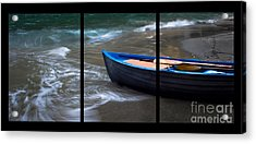 Uncertain Future Triptych Acrylic Print