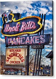 Uncle Bill's Pancakes Acrylic Print by Robert  FERD Frank