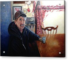 Uncle Harold, Maquoketa, Iowa Acrylic Print