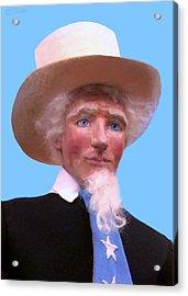 Uncle Sam 2 Acrylic Print