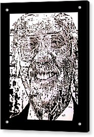 Uncle Walter Acrylic Print by Gabe Art Inc