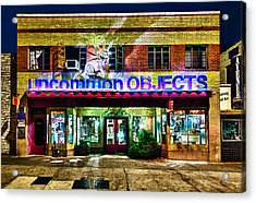 Uncommon Objects At Night Acrylic Print