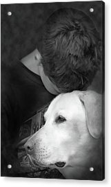 Unconditional Acrylic Print by Cathy  Beharriell