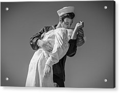 Unconditional Surrender 3 Acrylic Print