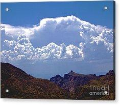 Under A Cloud Acrylic Print
