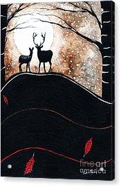 Under A Moonlit Sky Acrylic Print by Callan Percy