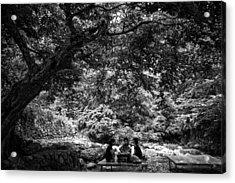 Under A Tree Acrylic Print