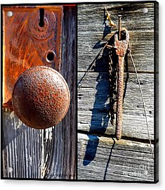 Under Lock And Key Acrylic Print