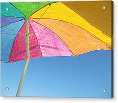 Under My Umbrella Acrylic Print by Mark Siciliano