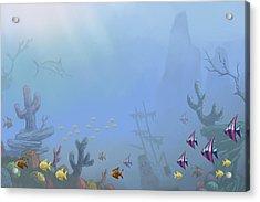 Under Sea 01 Acrylic Print