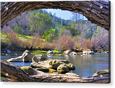 Under The Arch Acrylic Print