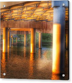 Under The Boardwalk Acrylic Print