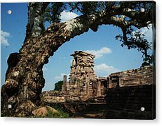 Under The Bodhi Tree Acrylic Print by Mohammed Nasir