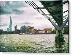 Under The Bridge Acrylic Print by Alessandro Giorgi Art Photography