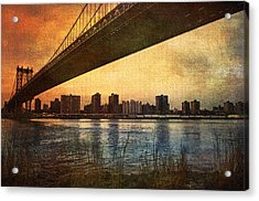 Under The Bridge Acrylic Print by Svetlana Sewell