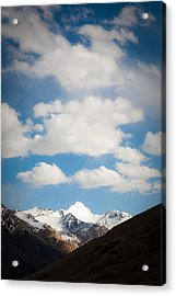 Under The Clouds Acrylic Print