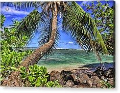 Under The Coconut Tree Acrylic Print