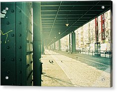 Under The Elevated Railway Acrylic Print