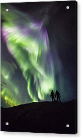 Under The Lights Acrylic Print by Alex Conu