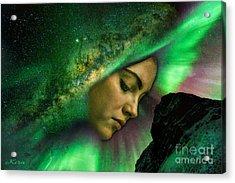 Under The Milky Way Acrylic Print