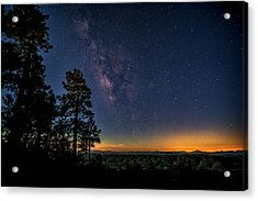 Acrylic Print featuring the photograph Under The Milky Way  by Saija Lehtonen