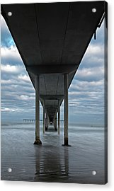 Under The Ocean Beach Pier San Diego Early Morning Acrylic Print