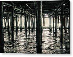 Under The Pier 3 Acrylic Print