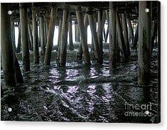 Under The Pier 4 Acrylic Print