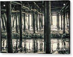 Under The Pier 5 Acrylic Print