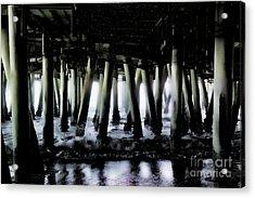 Under The Pier 6 Acrylic Print