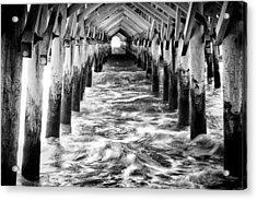 Pier - Myrtle Beach South Carolina Acrylic Print