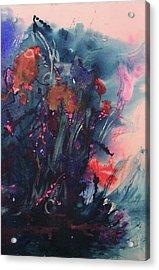 Under The Sea Ballet Acrylic Print by Sharon K Wilson