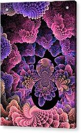 Under The Sea Acrylic Print by Digital Art Cafe
