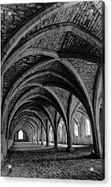 Under The Vaults. Vertical. Acrylic Print
