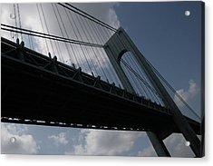 Under The Verrazano Narrows Bridge  Acrylic Print