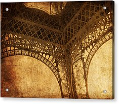 Under Tower Acrylic Print by Andrew Paranavitana