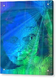 Under Water And Saved Acrylic Print by Fania Simon