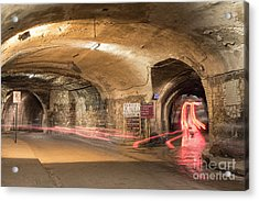 Underground Tunnels In Guanajuato, Mexico Acrylic Print by Juli Scalzi