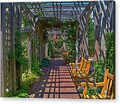 Underneath The Arbor Acrylic Print