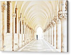 Underneath The Arches Acrylic Print