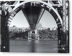 Underneath The George Washington Bridge IIi Acrylic Print
